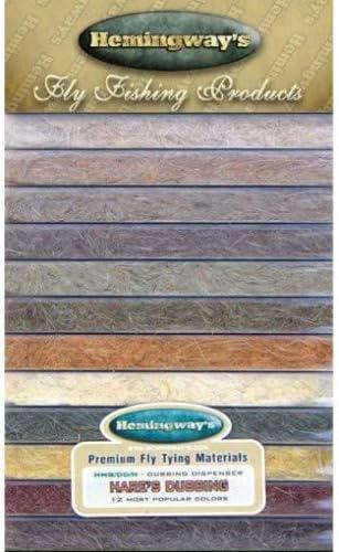 Hasenohren 12 Farben in toller Spenderbox Hemingway Fliegenbinder