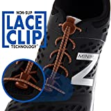AKTIVX SPORTS LACES - No Tie Shoelaces that Lock - Replacement Elastic Shoelaces, Athletic Laces for Running Gear Accessories, Mens Womens or Kids Shoes, Fitness Exercise Equipment (Brown)
