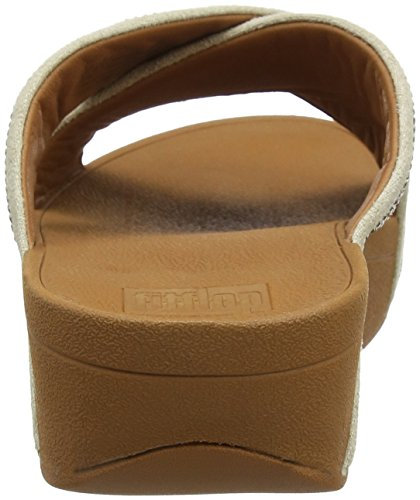 Fitflop Gold Mix Mujer Sandalias Dorado Slide Sandals Ritzy para 562 UZxqrU8
