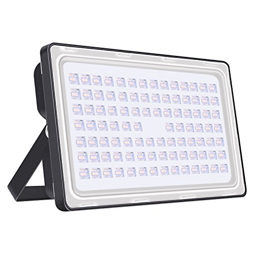 Viugreum 250W LED Flood Light Outdoor, Thinner and Lighter D