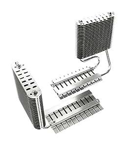 Thermalright VRM-R4 - Ventilador de PC (Tarjeta de video, Radiador, ATI 5870/5850, Plata, 140 g, 133 x 53 x 127 mm)