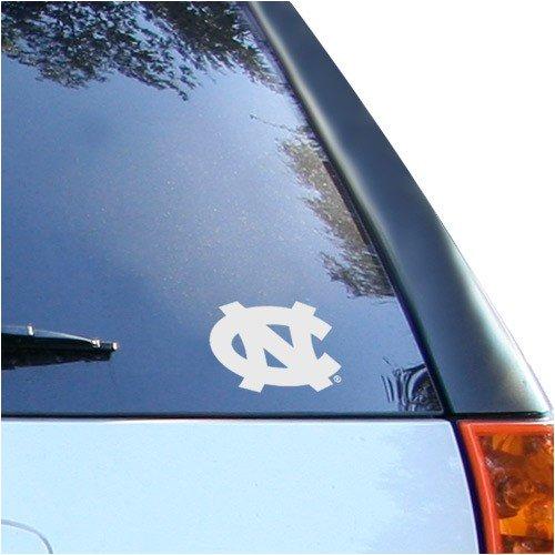 NCAA North Carolina Tar Heels (UNC) White Wordmark Decal