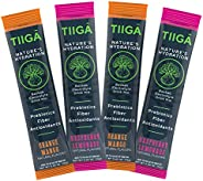 Tiiga Nature's Hydration | Baobab Electrolyte Drink Mix | Real Fruit as First & Main Ingredient | On-T