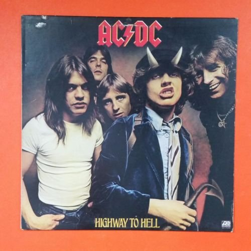Price comparison product image AC/DC Highway To Hell Atlantic SD 19244 SRC LP Vinyl VG+ Cover VG+