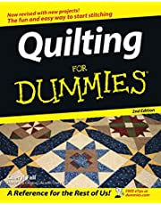Wiley Publishing WIL-9799X Craft Supplies Publishers-Quilting for Dummies