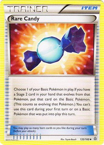 Rare Pokemon Tcg Card (Pokemon - Rare Candy (135/160) - XY Primal Clash)