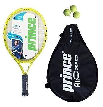 Prince Airo Rebel Tour 19 Junior Tennis Raqueta + 3 Tenis ...