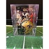 New Orleans Saints NFL Helmet Shadowbox w/Alvin Kamara card