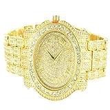 Diamond & Co. Men's 5275470 Ice King Analog Japan Quartz Golden Watch