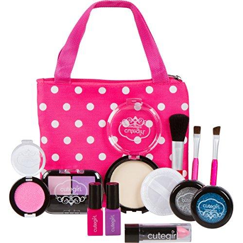Cutegirl Cosmetics Pretend Play Makeup Kit. Designer Girls
