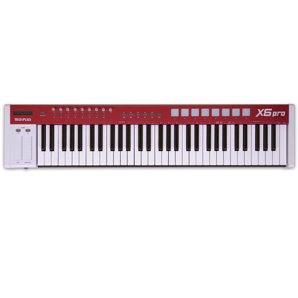 【正規通販】 MiDiPLUS B074P6HL7V x6 Pro USB Pro MIDIキーボードコントローラ USB B074P6HL7V, ココパーム:56763d35 --- svecha37.ru
