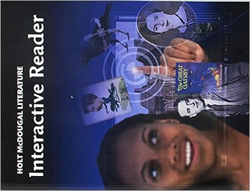 Holt mcdougal literature interactive reader grade 11 american holt mcdougal literature interactive reader grade 11 american literature 1st edition fandeluxe Choice Image