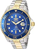 Invicta Men's 'Pro Diver' Automatic Stainless Steel Diving Watch, Color:Two Tone (Model: 20144)