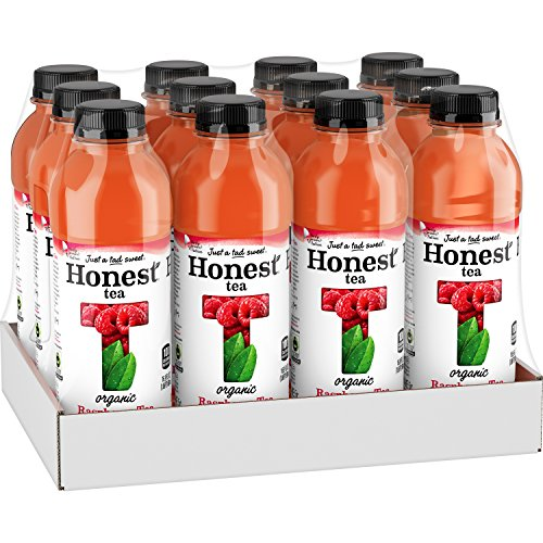 Honest Tea (Organic Raspberry Tea, 16.9-Ounce Bottle, Pack of (Raspberry Iced Tea)