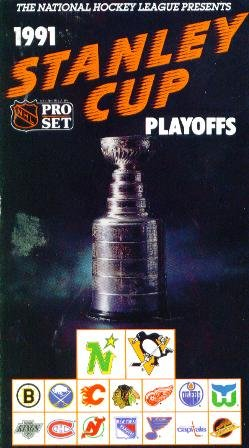 1991 Stanley Cup Pittsburgh/Minnesota - Stanley Cup 1991