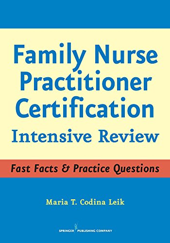 Family Nurse Practitioner Certification: Intensive Review Pdf