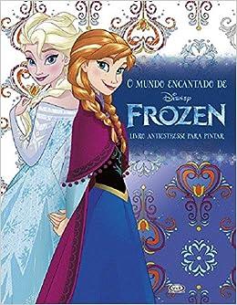 O Mundo Encantado De Frozen Em Portuguese Do Brasil Varios