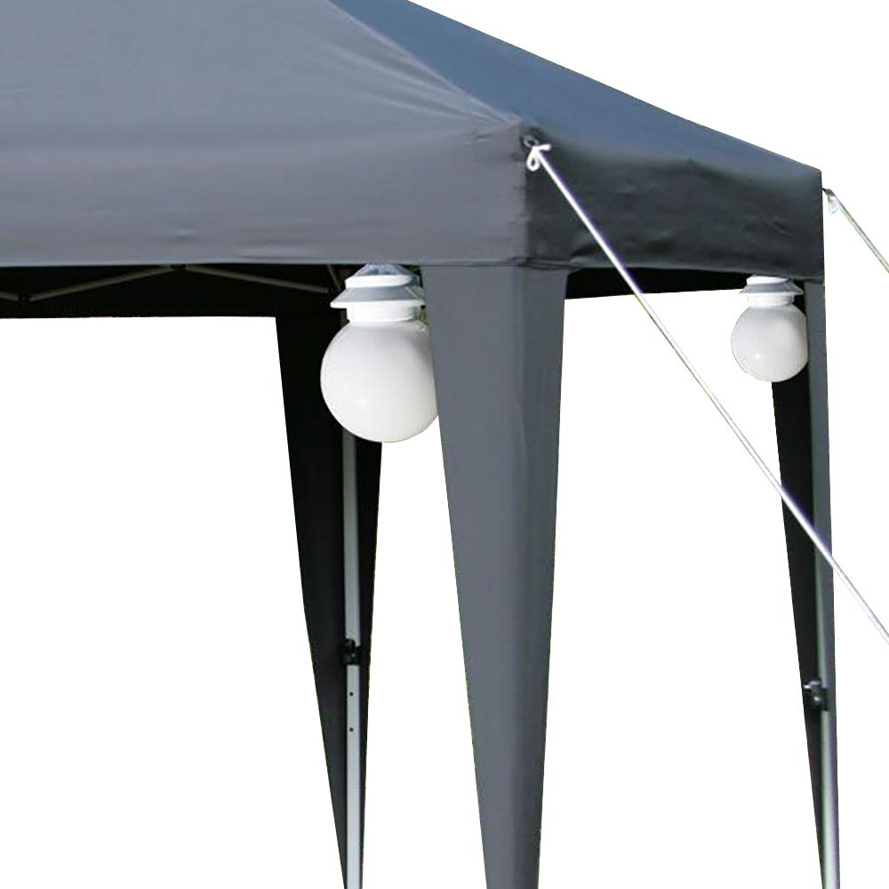 Gazebo / Marquee / Patio Globe Lights Set of 4 Lights Esc Europe Ltd