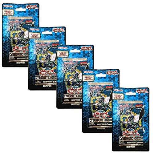 Yu-Gi-Oh! Cards -Cybernetic Horizon 5Pk Blister Bundle Trading Cards