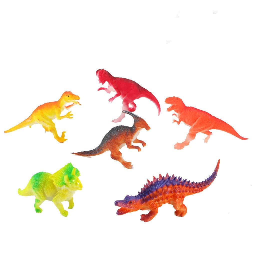 Animals & Dinosaurs Toys & Hobbies Bright Dinosaur Toy Figure Bundle