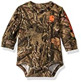 Carhartt Baby Boys Long Sleeve Bodysuit, Mossy Oak 219, 24M