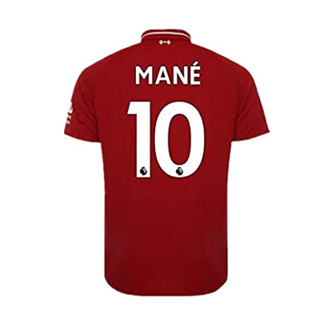 separation shoes f5cab d950f Amazon.com : Scshirt #10 Mane Liverpool Home Soccer Jersey ...