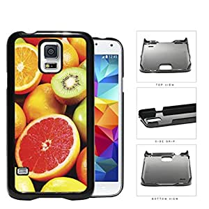 Colorful Fruit Slices Variety Pattern Hard Plastic Snap On Cell Phone Case Samsung Galaxy S5 SM-G900