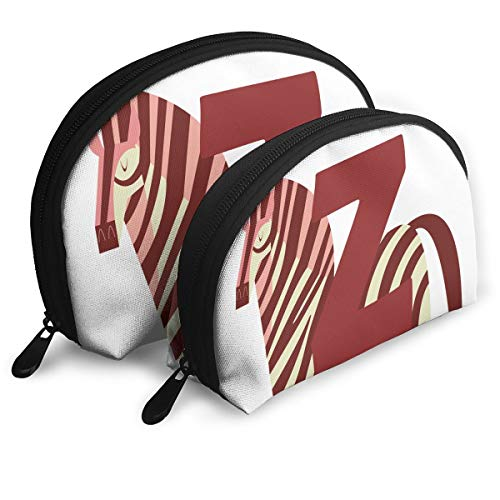 - Pouch Zipper Toiletry Organizer Travel Makeup Clutch Bag Z For Zebra Portable Bags Clutch Pouch Storage Bags