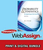 img - for Bundle: Probability and Statistics for Engineering and the Sciences, 8th + Enhanced WebAssign - Start Smart Guide for Students + Enhanced WebAssign ... Card for Statistics, Single-Term Courses book / textbook / text book