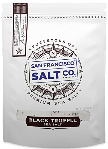 5 oz. Resealable Pouch - Authentic Italian Black Truffle Salt