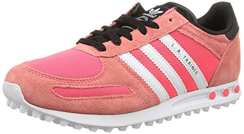 adidas Unisex S15 Shoes Rot Flash Red Ftwr Flash Kids' White LA S15 Trainer Running Red Red rqrRf