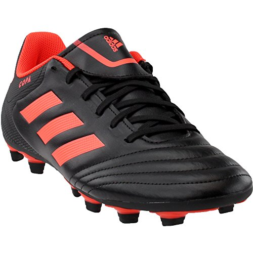adidas Originals Men's Copa 17.4 FxG Soccer Shoe, Black/Solar Red/Solar Red, 9.5 Medium US