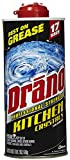 Drano Professional Strength Kitchen Crystals Clog Remover, 18 Oz