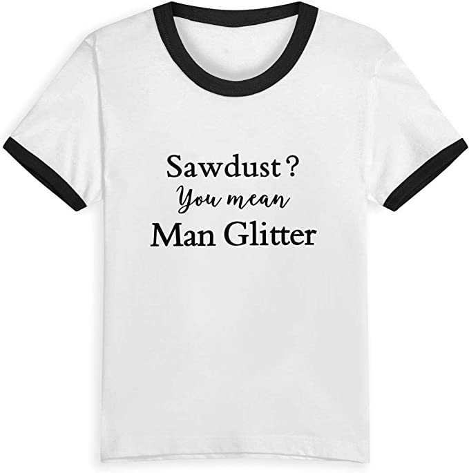 Queen Elena Sawdust You Mean Man Glitter, 2-6Y playera con ...