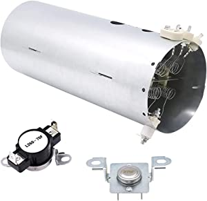 Primeswift 134792700 Dryer Heating Element,137032600 Thermal Limiter and 3204267 Thermostat Compatible with Frigidaire Electrolux Dryers,Replacement PS2349309,AP4368653,AP4368739,PS2349395,AP213147
