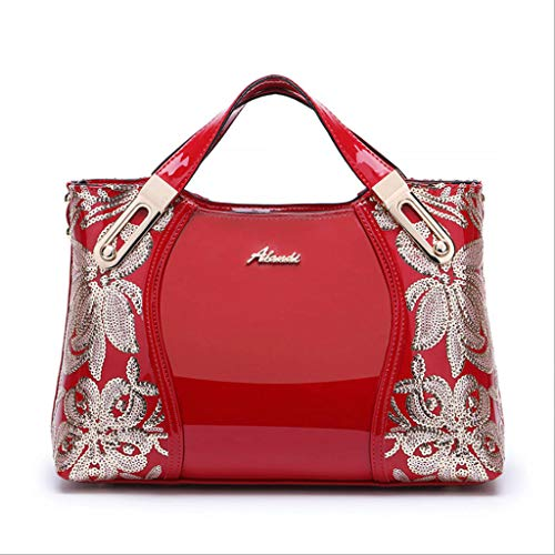 Royal Couleur Sac 21 Sauvage Blue Red 13cm Main épaule Cuir Verni Bag mère ZDD Taille Messenger Femmes Couleurs Mode Sac en à 5 31x21x13cm Grand Sac 31 Hw1HBqPRf