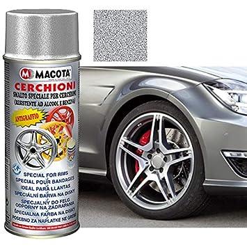 TRS - Pintura en Spray de Aluminio, 200 ml, Barniz acrílico para Llantas antiarañazos