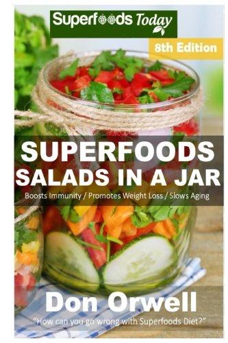 Superfoods Salads Jar Antioxidants Phytochemicals