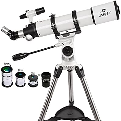 Gskyer Telescope, 600x90mm AZ Astronomical Refractor Telescope, German Technology Scope