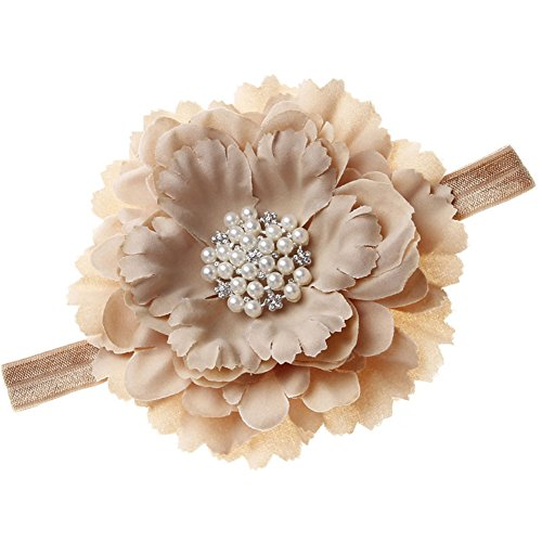 Floral Fall Baby Girls Crystal Peony flower Crown Headbands Hair Bands BY-31