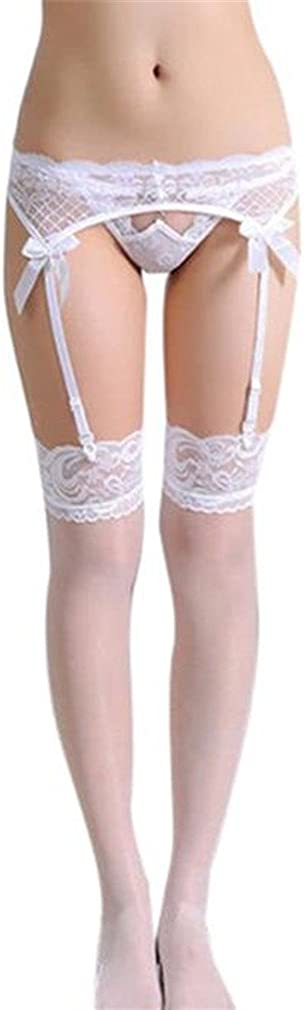 Lace Thigh-Highs Stockings Socks Suspender Garter Belt Set Xinantime Women Leggings