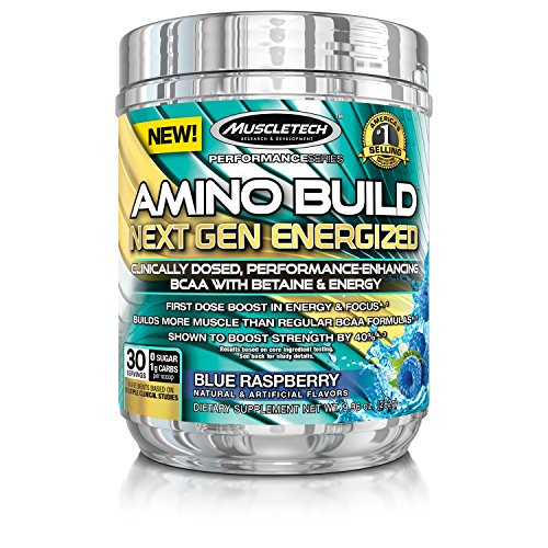 MuscleTech Energized Formula Energy Raspberry