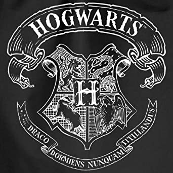 Harry Potter Hogwarts Wappen Zeichnung Turnbeutel