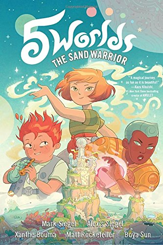 5 worlds book 1  the sand warrior book review and ratings