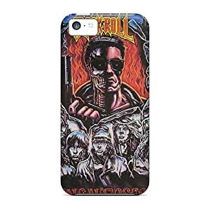 Shock Absorption Hard Cell-phone Case For Iphone 5c (DuP4412PRCy) Provide Private Custom Lifelike Guns N Roses Skin