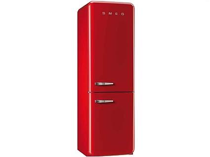 Smeg Kühlschrank Gefrierkombination : Smeg kühl gefrierkombination fab32rr1 rot rechtsanschlag a : amazon