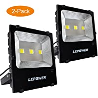 2-Pks. LEPOWER 150W New Craft LED Flood Light (White Light)