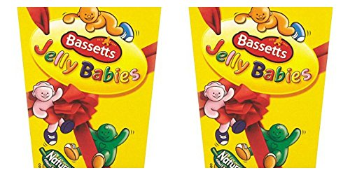 - Original Maynards Bassetts Jelly Babies Gummy Candy Imported From The UK England Delicious Fruit Flavored Jelly Babies Pieces Of Chewy Soft Jelly