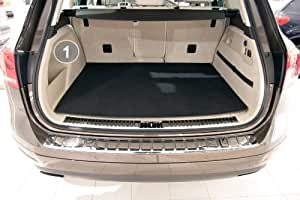tuning-art BM2806 3-pieza estera del maletero con el tope de protección
