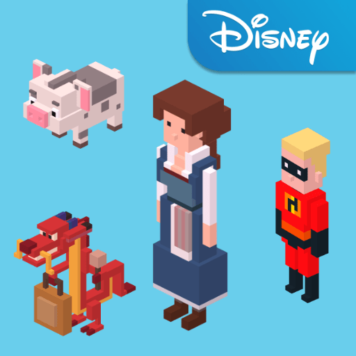 disney-crossy-road-with-beauty-and-the-beast
